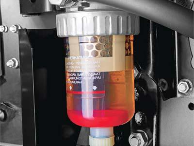 Transparant Water Separator Mitsubishi Fuso