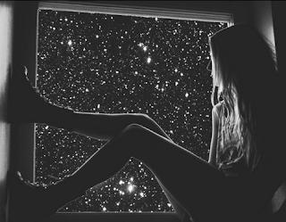 mirar las estrellas con amor
