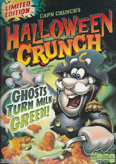 Front of Cap'n Crunch's Halloween Crunch 2015 box