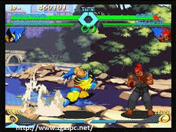 Download  X-MEN VS Street Fighter PS1 ISO Full Version ZGASPC