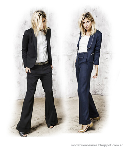 Paula Cahen D'anvers primavera verano 2014, trajes de mujer, moda 2014.