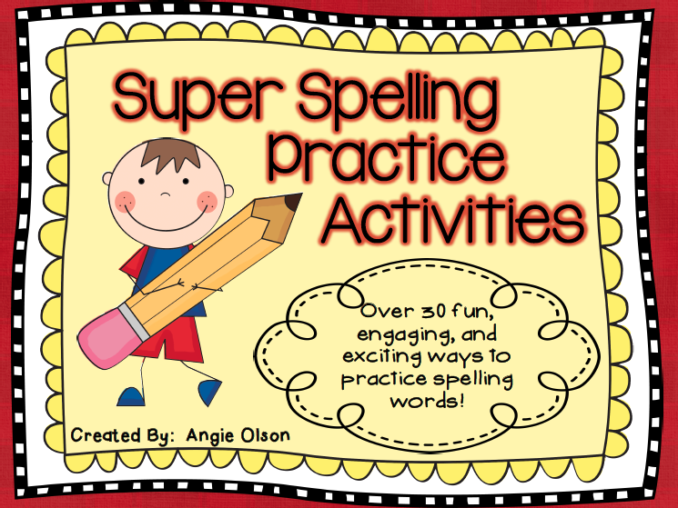 https://www.teacherspayteachers.com/Product/Super-Spelling-Activities-998948