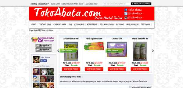 Tokoabata.com Toko Online Herbal Terpercaya