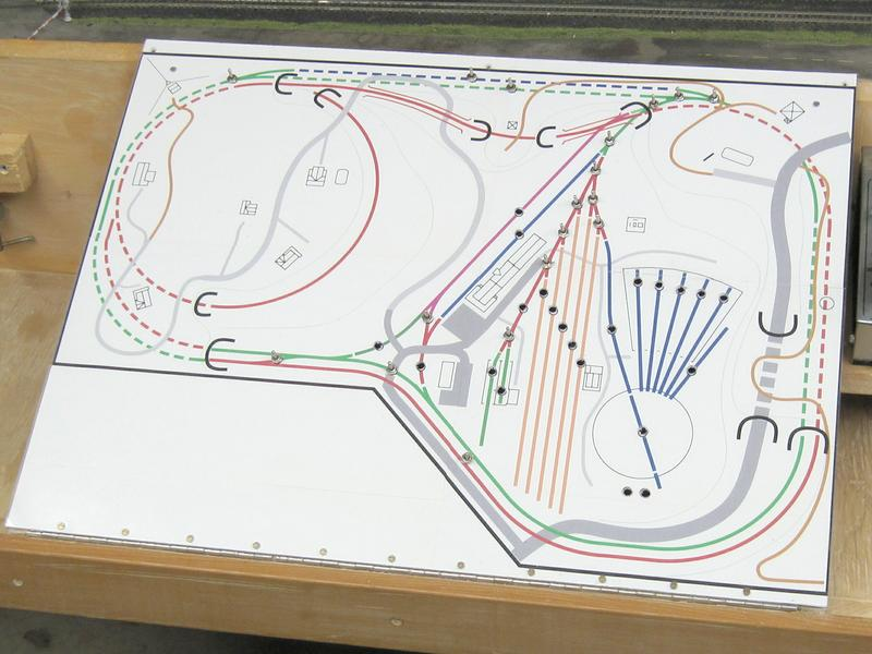 My model railroad about me my layout Simple cad online