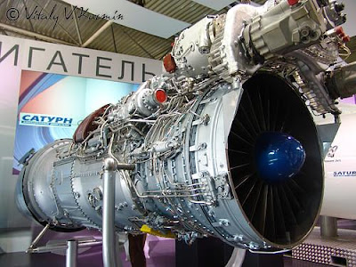AL-31F Turbofan Engine
