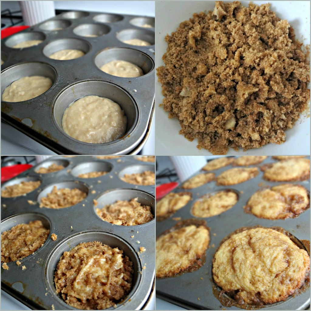 The Cooking Actress: Easy Cinnamon Roll Muffins