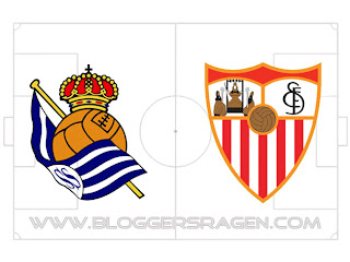 Pertandingan Real Sociedad vs Sevilla