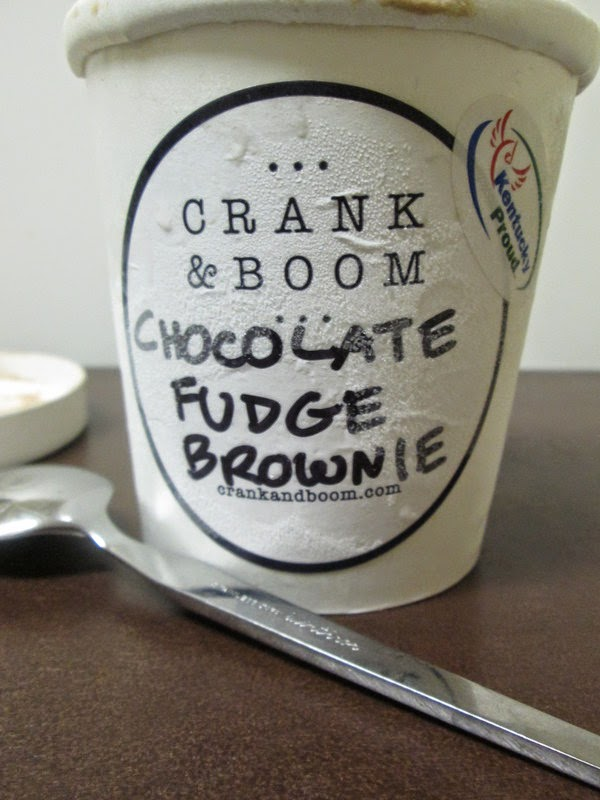 Chocolate Fudge Brownie Crank and Boom