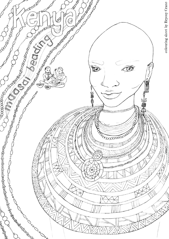 Kenya Animals Coloring Pages : Printable coloring pages of african animals