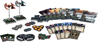 Miniature board game news X-wing Imperial Aces red