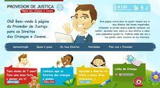 Provedoria lança Página da Criança