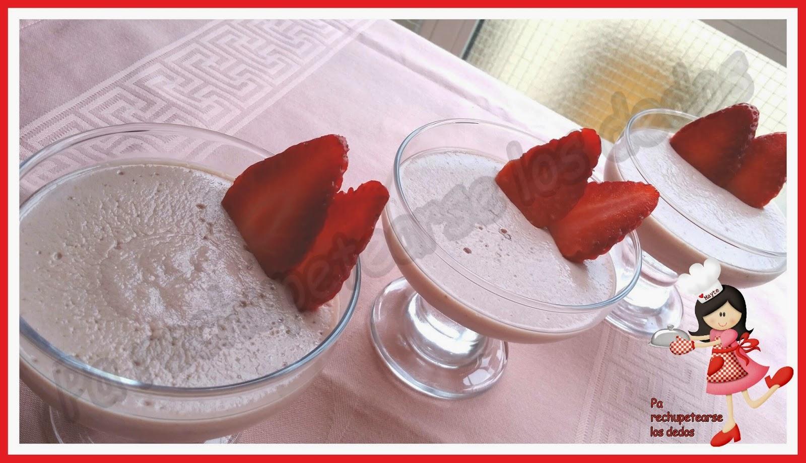 *Naatillas de fresas (thermomix, tradicional)