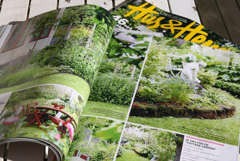 Vår trädgård i Hus & Hem nr 5