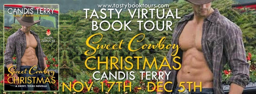 Tasty Virtual Book Tour: Sweet Cowboy Christmas by Candis Terry