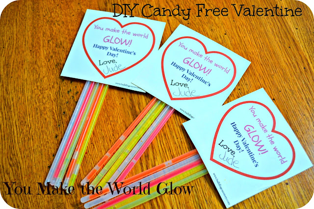 Candy Free Valentine - You Make The World Glow