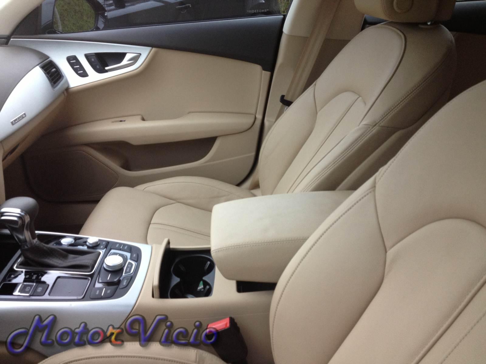 Audi A7 2013 Preto com interior bege | Motor Vício