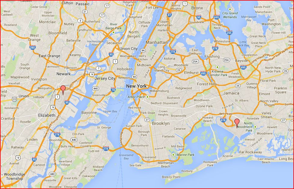 Travel with kevin and ruth planning for new york city for Resorts driving distance from nyc