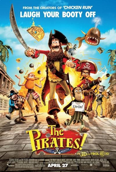 The Pirates Band of Misfits DVDRip Español Latino Descargar 1 Link 2012