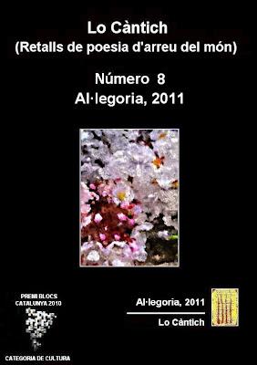 Lo Càntich - Número 8 - Al·legoria, 2011