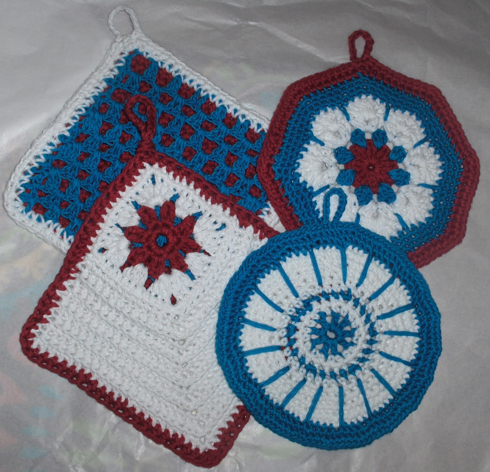 Das Crochet Connection: Bridal Shower Gifts-Free Patterns