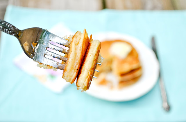 Make pancakes like a diner queen with this easy Fluffy Buttermilk Pancake recipe.