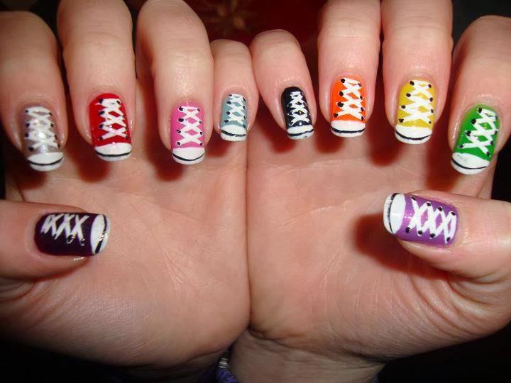 Красиво накрашенные ногти в домашних условиях фото пошагово