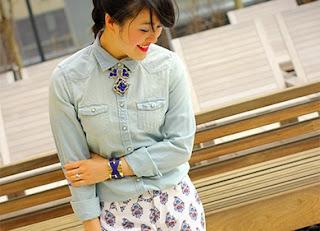 Spring Chambray Shirt