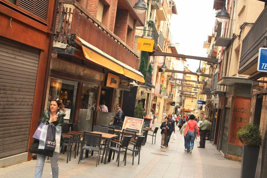 Carrer Major (Main Street) of Puigcerda