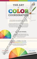 Infographie sur la coordination des couleurs