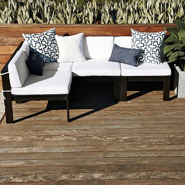 the naples 7 piece patio furniture set from overstock is ok but we wanted something that didnt look like wicker - Mid Century Modern Patio Furniture