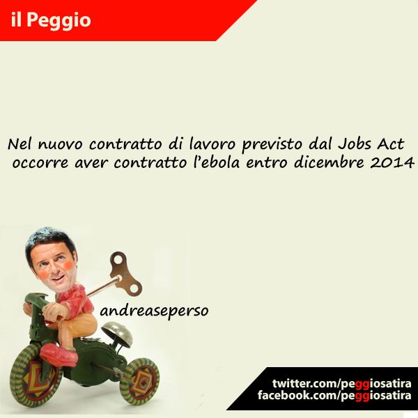 satira politica su Renzi e il Jobs Act