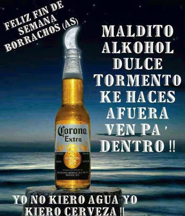 Frases Divertidas de Alcohol, parte 1