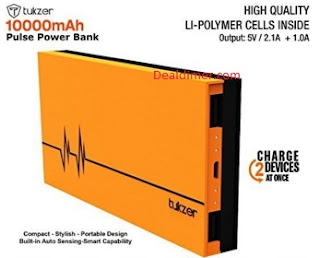Tukzer 10000 mAh Power Bank