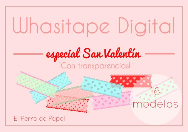 Whasi Tape Digital -Especial San Valentín 2015-