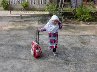 Hari Pertama Nai Sekolah (Lagi)