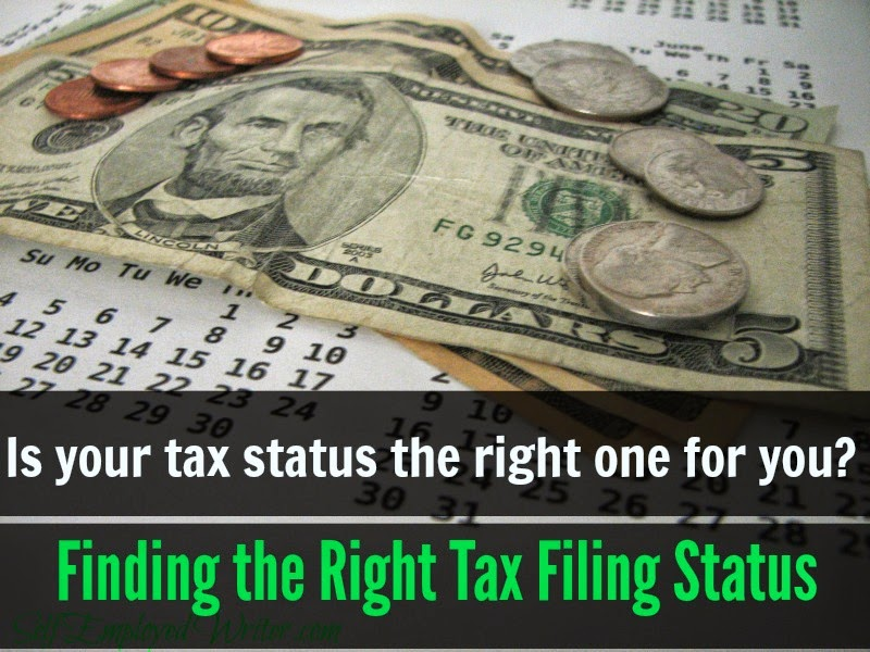 Finding the Right Tax Filing Status | Self Employed Writer