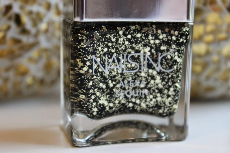 Nails Inc Alexa Sequins Nail Polish
