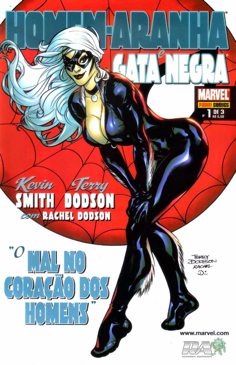 Homem-Aranha e Gata Negra - O mal nos corações dos Homens #1