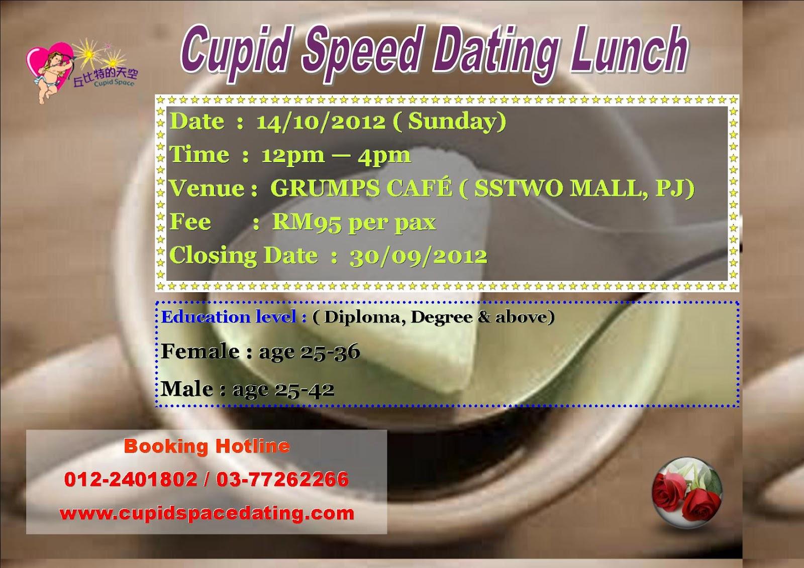 Cupid speed dating malaysia
