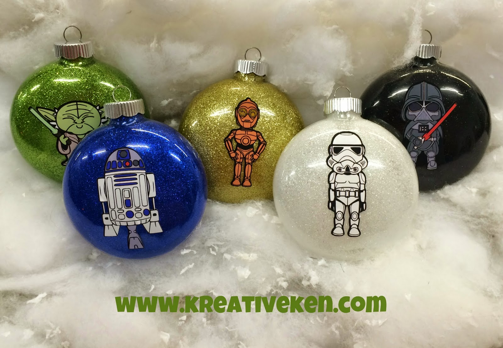 Star wars ornaments ken 39 s kreations for Star wars dekoration