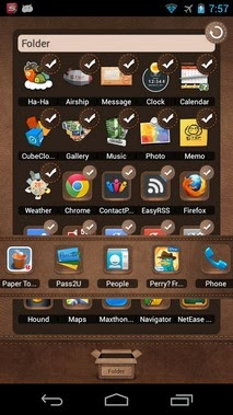 TSF Shell android apk - Screenshoot