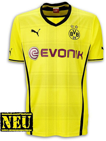 Borussia Dortmund 13-14 (2013-14) Home, Away and Third Kits Released