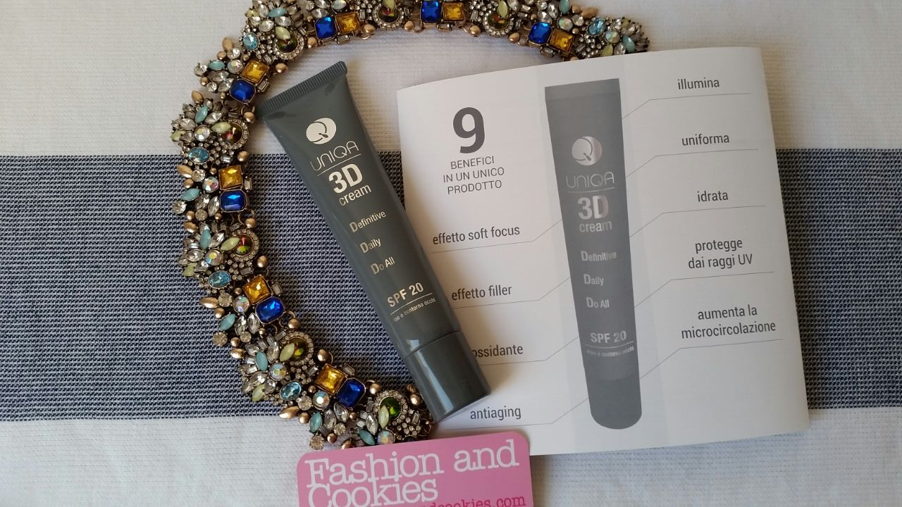 Uniqa by Pea 3d cream on Fashion and Cookies beauty blog, this product is amazing