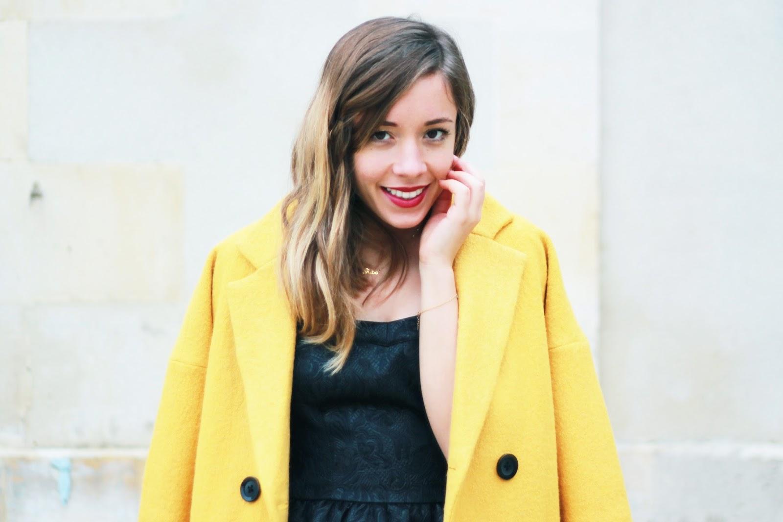 Manteau jaune Cache Cache