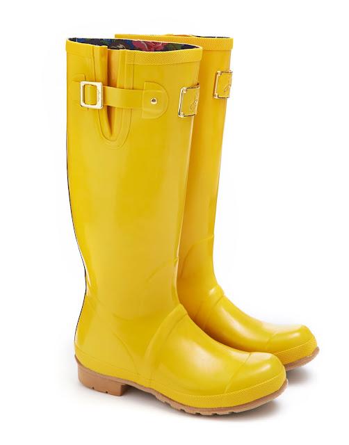 Rain Boots Yellow1