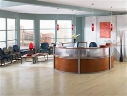 Stylish Reception Area