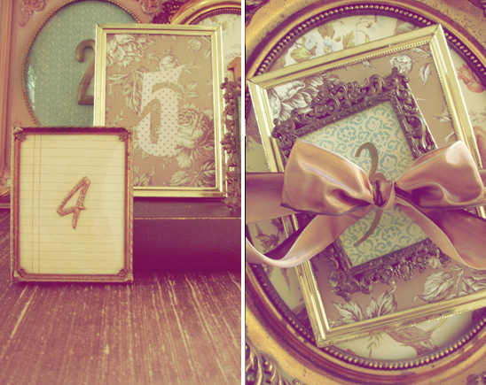 my wedding inspirations vintage table numbers