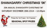 5k in Shanagarry nr Ballycotton...Sat 20th Dec