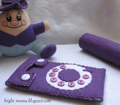 чехол для телефона мобильного планшета из фетра своими руками felt-аксессуары