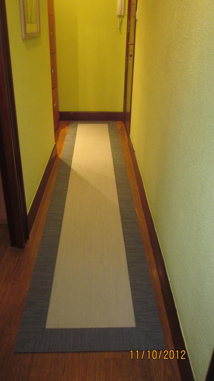 Decorar con cortinas y mucho m s pasillo de vinilo - Alfombras de pasillo modernas ...
